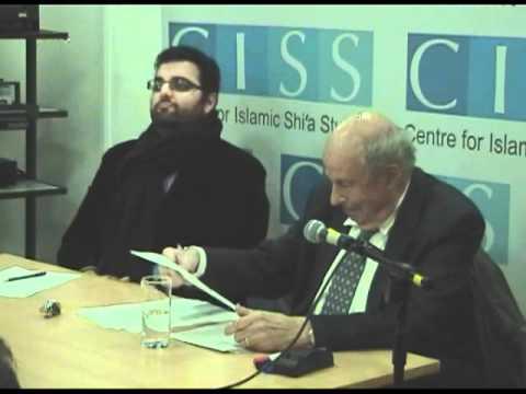 CISS seminar with Prof Wilferd Madelung - 21 September 2011