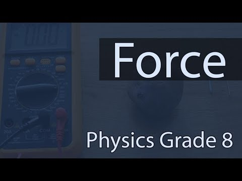 Force | Types of Force | Contact Force | Non Contact Force | Lecture 1