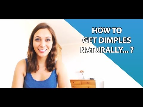 How To Get Dimples Naturally  YouTube