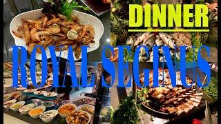 ROYAL SEGINUS  /dinner / main restaurant 18-30