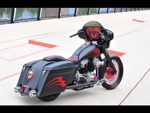 A Radical Bagger Custom Harley Davidson Custom Bike Show