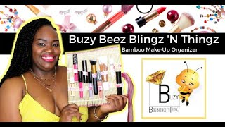 #ProductReview Buzy Beez Blingz 'N Thingz Bamboo Make-Up Organizer