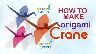 How to Make Origami Crane for Beginners