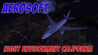 FSX Extreme   Aerosoft Night Environment California   LAX Departure