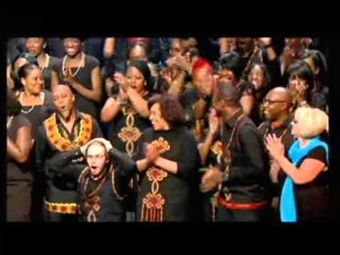 Birmingham's Town Hall Gospel Choir wins the Song Of Praises - Gospel of the Year 2013