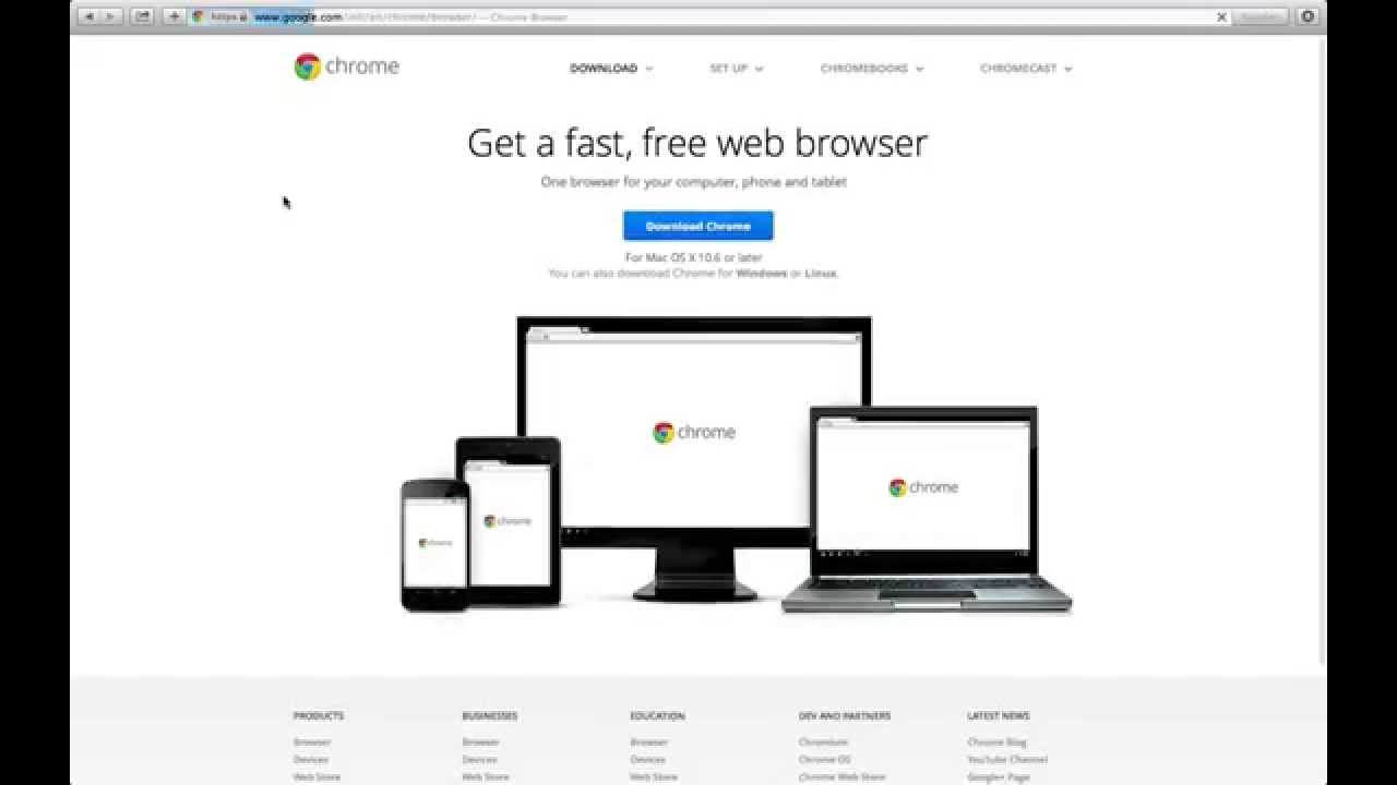 google chrome desktop download