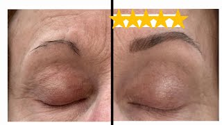 HOW TO FILL IΝ SPARSE EYEBROWS FOR MATURE WOMEN | Nikol Johnson