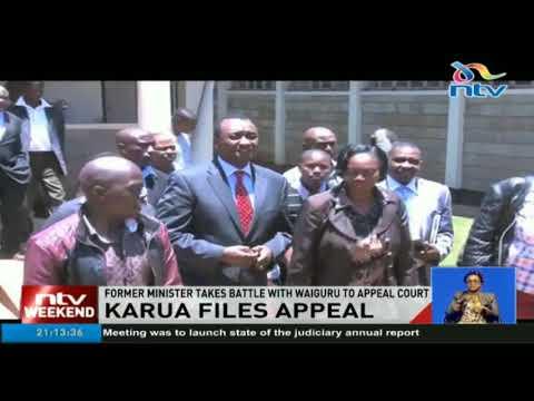 Martha Karua takes battle with Waiguru to Appeal court