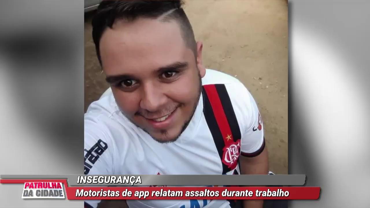 MOTORISTAS DE APP RELATAM ASSALTOS DURANTE O TRABALHO