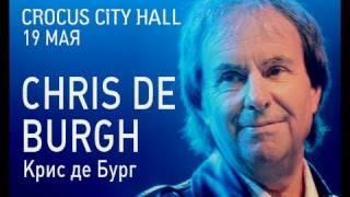 Chris de Burg (Крис де Бург) Крокус Сити Холл Москва 19 мая