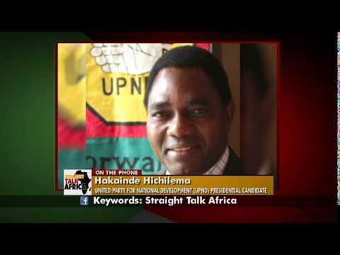 Straight Talk Africa Social Media Hakainde Hichilema on ...