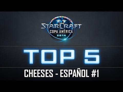 StarCraft II Copa América 2014 | Top 5 Cheeses #1 | Español