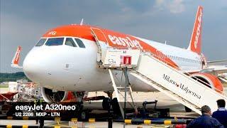 TRIP REPORT | easyJet A320neo | Milan MXP ✈ London LTN