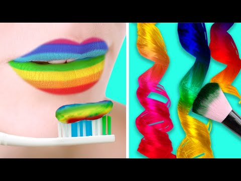27 COOL COLORFUL LIFE HACKS FOR GIRLS