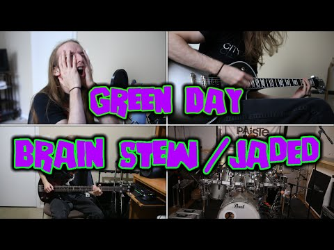 Green Day - Brain Stew / Jaded (Full Band Cover)
