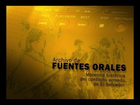 Memoria Histórica del Conflicto Armado en El Salvador
