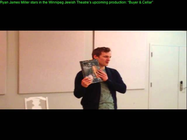 Ryan James Milller in WJT's 'Buyer & Cellar""