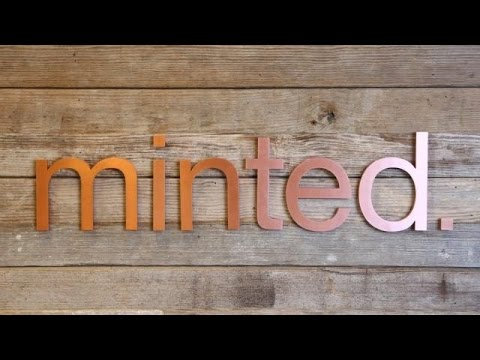 Minted's Visually Stunning Office | TC Cribs