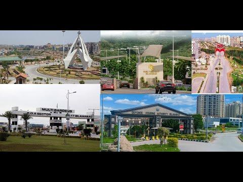 Top 5 Societies of Islamabad/Rawalpindi