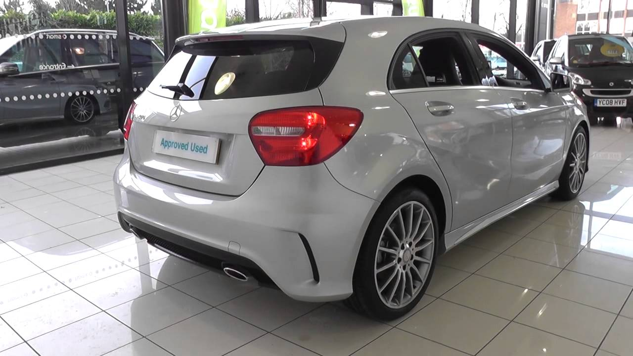 Mercedes benz a class a200 blueefficiency amg sport 5dr for Mercedes benz a200