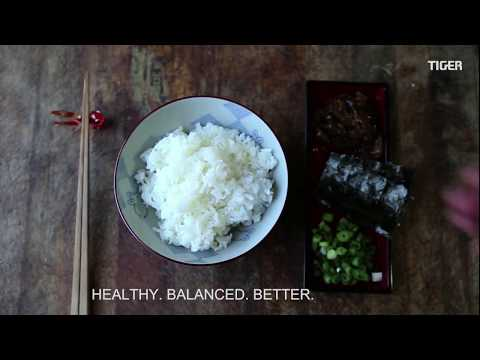 Cooking White Rice With Tiger IH Rice Cooker