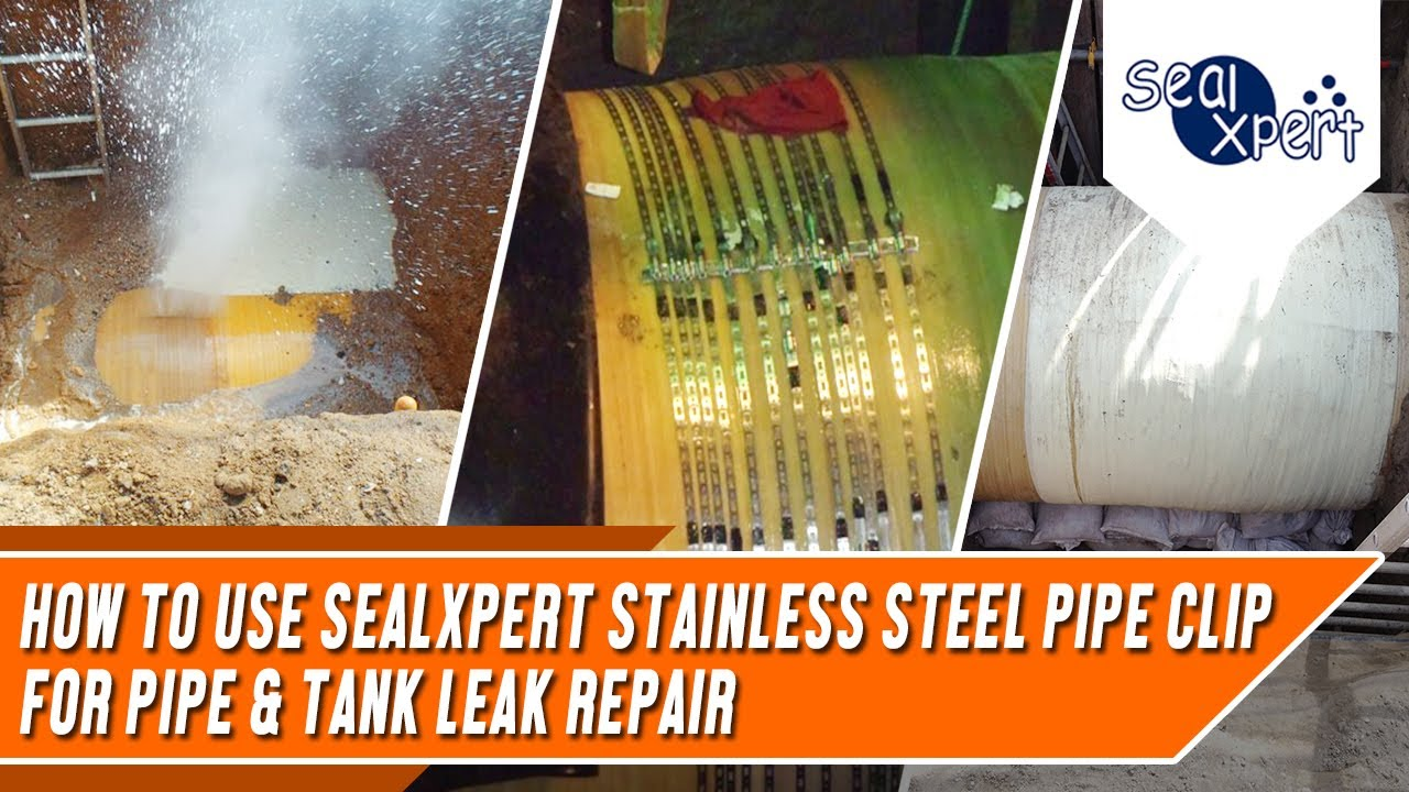 Stainless Steel Pipe Clip   SealXpert
