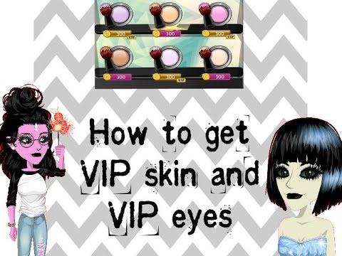 how to get vip eyes on fantage