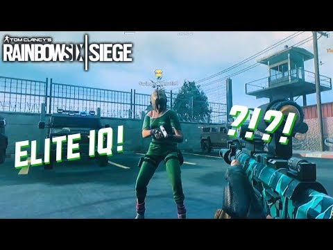 Elite IQ - rainbow six siege glitch?