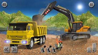 Sand Excavator Simulator 2021: Truck Driving Games - Android Gameplay screenshot 1