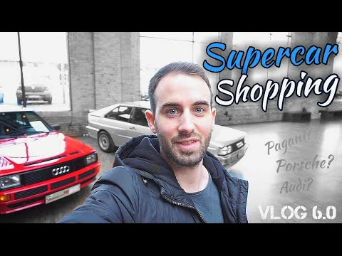 SUPERCAR SHOPPING in Berlin I Carfanix I Model Cars I Classic Remise
