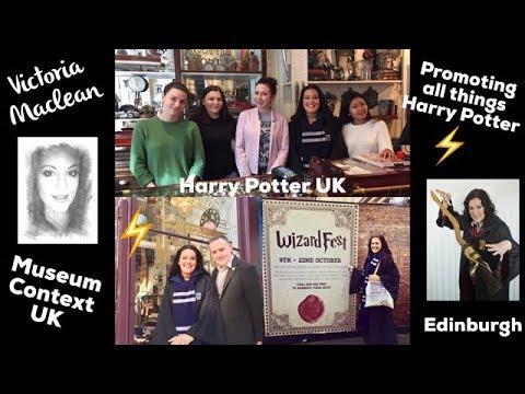 Museum Context UK. A closer look at the world famous Harry Potter merchandise shops