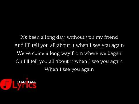 wiz khalifa feat charlie puth lyrics youtube