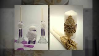 Свадебные свечи Gilliann Домашний очаг