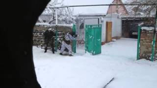 "SOBR & OMON ""Zubr"". Dagestan. Winter. in action 2014 Part1"