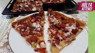 Yufkalı Pizza Tarifi - Hülya Ketenci - Yemek Tarifleri