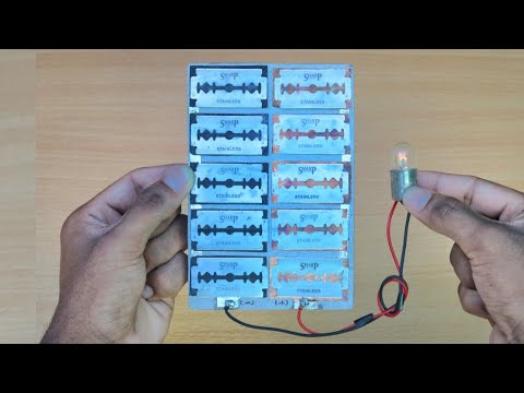 How to make Solar Panel - Using Old Mobile Battery || DIY Solar Panel ||