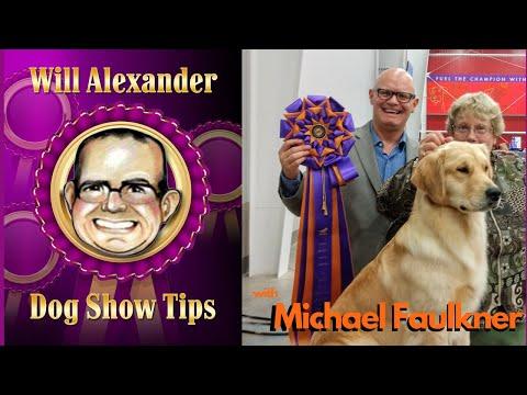 Dog Show Tips  Michael Faulkner Interview