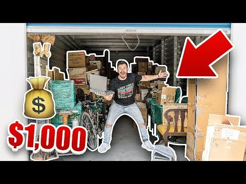 I Bought a $1000 Abandoned Storage Unit and Found This.. (FI