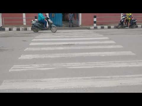 No law on road in Kathmandu