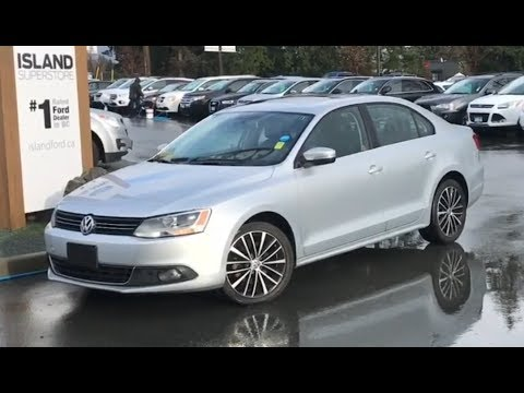 2013 Volkswagen Jetta Highline W/ Leather, Moonroof, Heated Seats Review| Island Ford