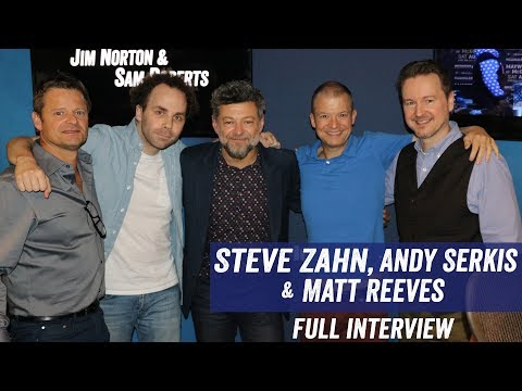 Steve Zahn, Andy Serkis and Matt Reeves  'War For The Planet of the Apes'
