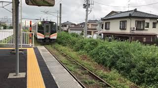 【E129系】白新線普通ワンマン豊栄行 豊栄駅到着