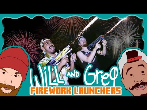 Will & Greg Make Firework Launchers! (Ep. 14)