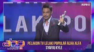 Syafiq Kyle - Pelakon TV Lelaki Popular Alha Alfa | #ABPBH32