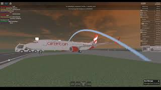 [ROBLOX] On board the Air Britain Boeing 737-MAX8.