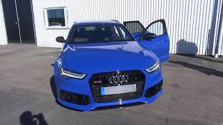 Audi RS6 Performance 2016 ¨BRUTAL!!' 'Milltek' Full Version 4K