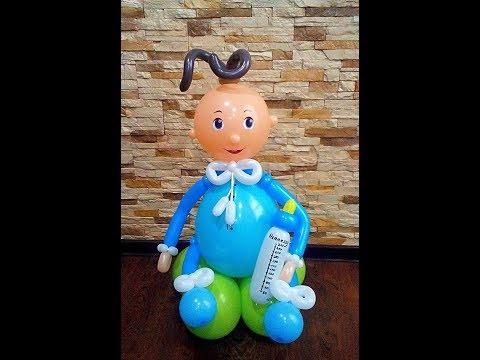 Младенец, ребёнок, малыш из воздушных шаров/ Infant, Child, Baby, Babies Balloon
