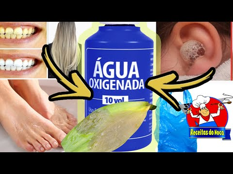 INCRÍVEIS 20 MANEIRAS DE USO DA ÁGUA OXIGENADA - SURPREENDA-SE !