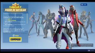 FORTNITE BATTLE PASS SEASON X10