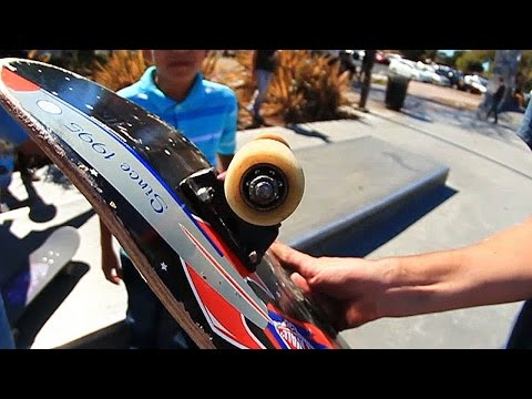 WORST EVER WHEELS AT THE PARK!?